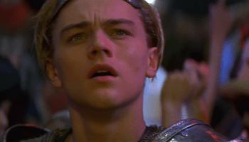 Leo in Romeo + Juliet (1996) – Leonardo Dicaprio