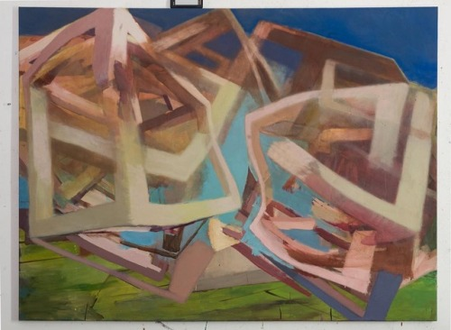 Snakeline, 120 x 160 cm, #EggtemperaOil #finalstate #oiloncanvas #oilpainting #instaart #painting #grid #contemporaryart #peinture #fineart #berlinart #christophkern #malerei #contemporarypainting