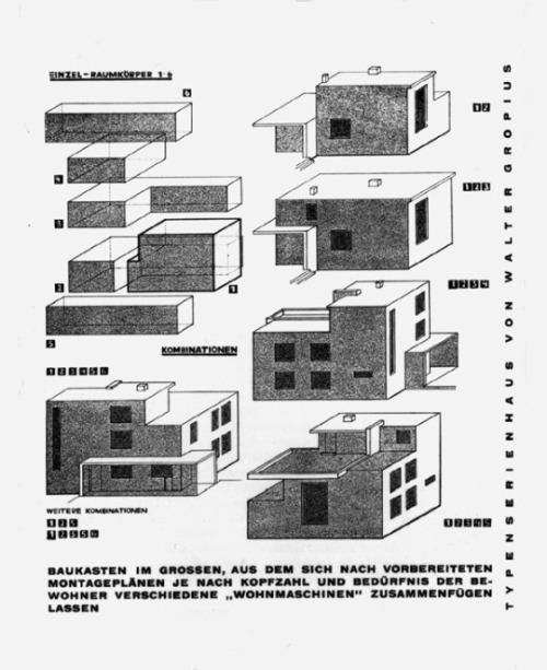 Design is fine  Walter Gropius  Fred Forbt Wabenbau