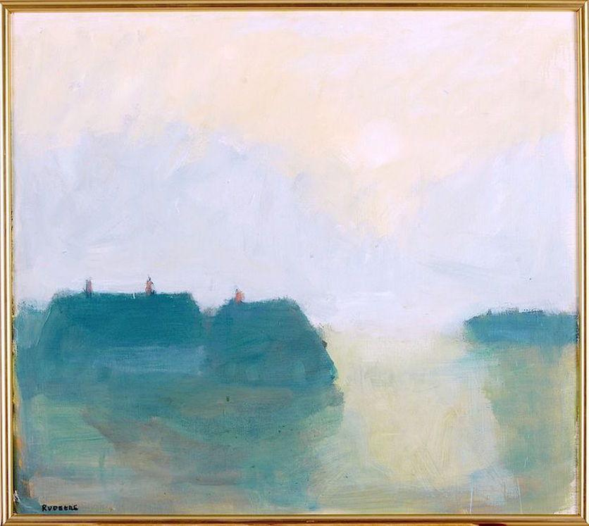 """bofransson: """"Evening Light - Hven, by Gustav Rudberg """""""