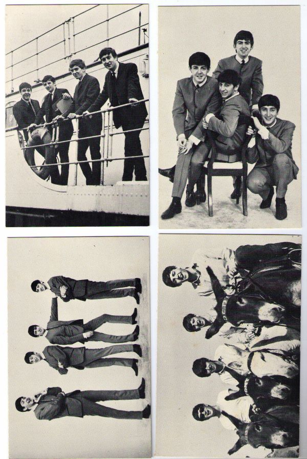 Early Nems Beatles Postcards 1963