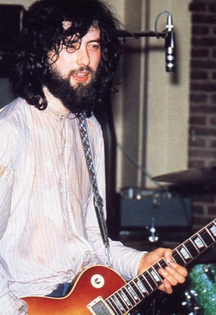 jimmy page march 11 1971 old union refectory at southampton glamrock. Black Bedroom Furniture Sets. Home Design Ideas