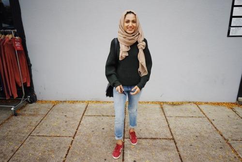 Street Hijab Fashion Tumblr