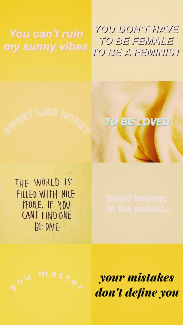 Pastel Yellow Aesthetic Quotes Imgurl