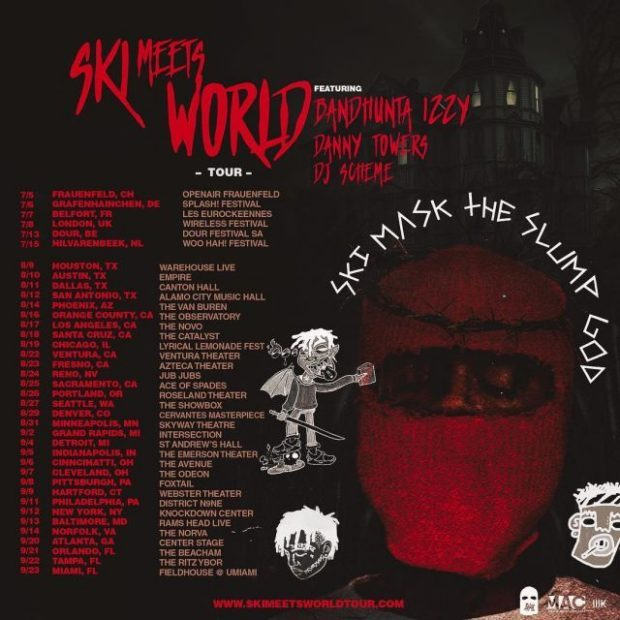 02ff2cc3e212 Ski Meets World (Tour Dates) – Ski Mask The Sl… – R B