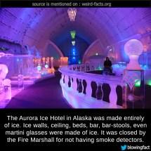 Mind Blowing Facts Aurora Ice Hotel In Alaska