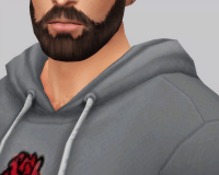 Basic Hoodie M - The Sims 4 Download - SimsDomination