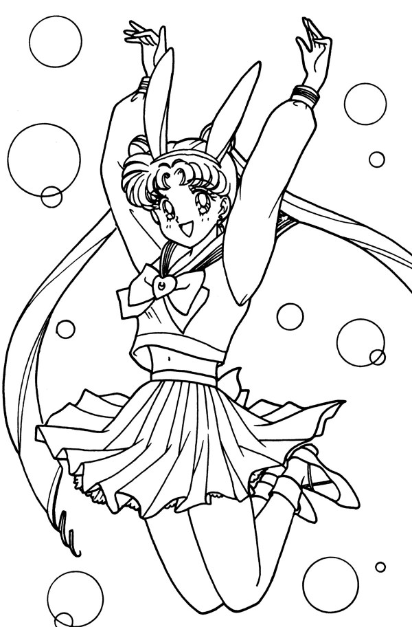 20 Coloring Page Crystal Usagi Tsukino Ideas And Designs