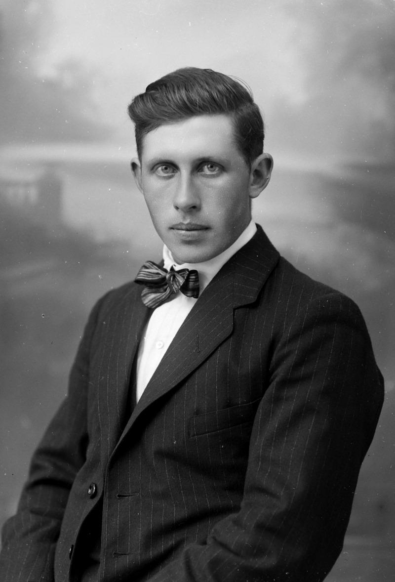 Nils Olsson, 1924, Sweden.