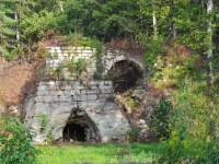 An old Iron Furnace found in Southern Ohio Source ...