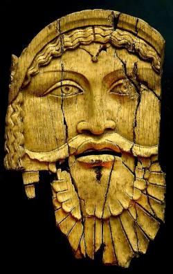 art-mysecondname:Ivory relief of Dionysus, 1st century BC