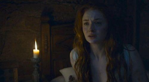 Sansa chemise de nuit bleue