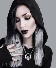 nu goth hairstyles