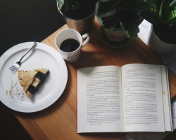"belleatlas: """"eating and reading are two pleasures that combine admirably"" - cs lewis """