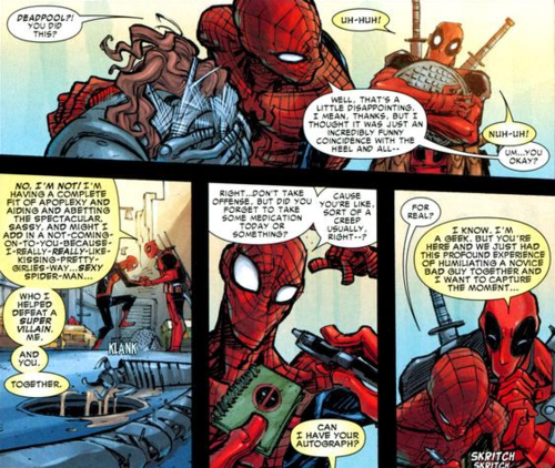 Canon Deadpool And Spider Man