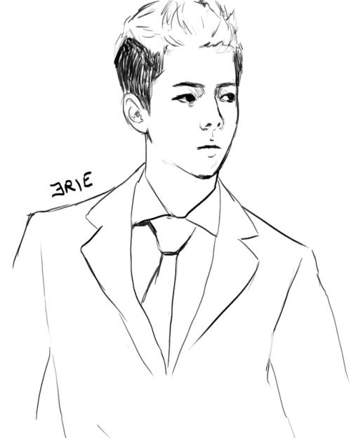 Oh Sehun Drawing