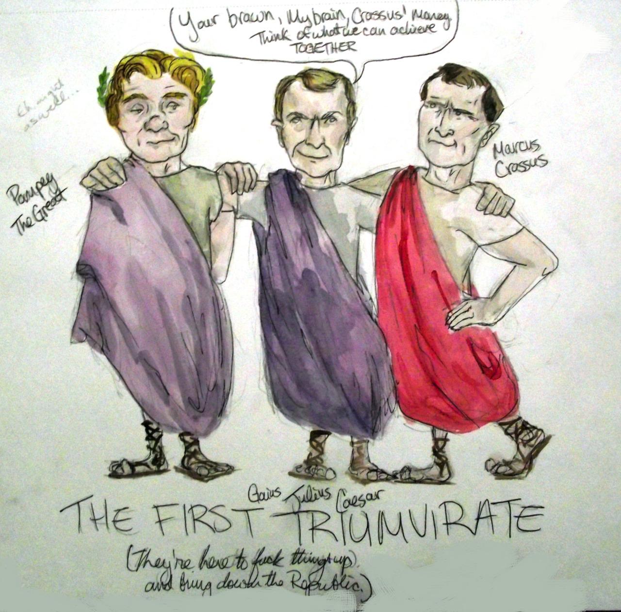 Triumvirate Do What Did