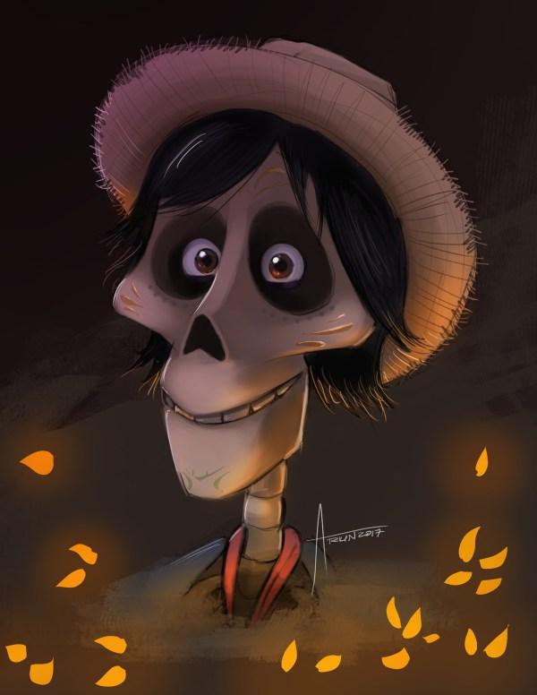 Arkin Hector from coco pixar