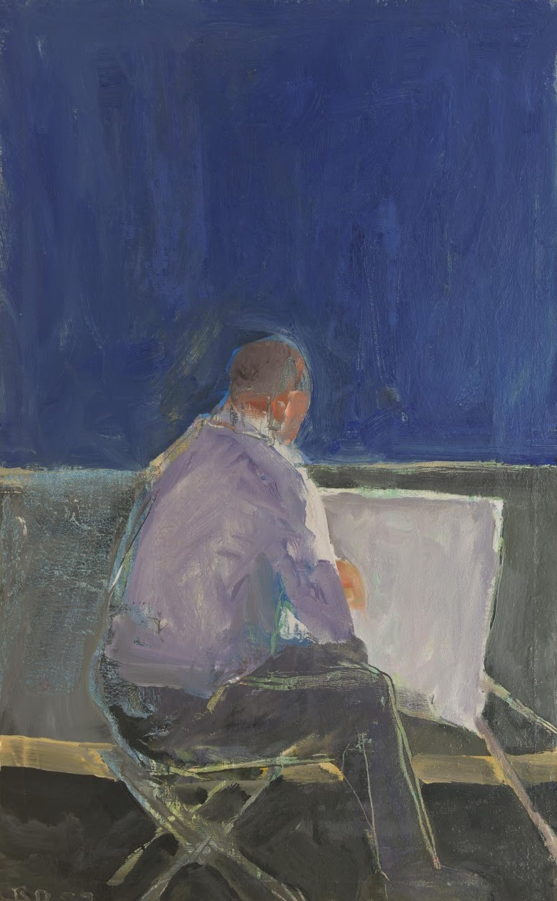 "urgetocreate: ""Richard Diebenkorn, Painter, 1957, Oil on canvas """