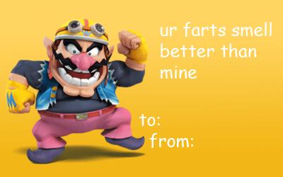 A Wario Valentine Tumblr