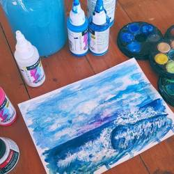 Mucking about with watercolours and high flows on a lazy Saturday. #havingfun.....#artstudio #australianartist #carveouttimeforart #design #sketching #newart #wip #abstractart #art #artworks#perthcreatives #illustration #perthartist #perthstagram #paintings #watercolors #watercolorist #highflow