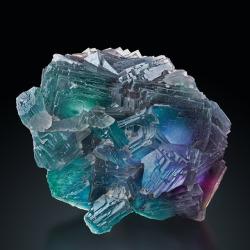 bijoux-et-mineraux:Fluorite - Summit Cleft, Weisseck, South Slope, Salzburg, Austria