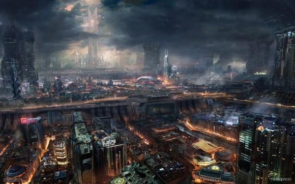 Metropolis Of Tomorrow Cyberpunk Art