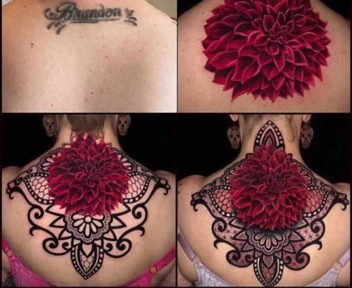 Cover Up Tattoo in Progress   Best Tattoo Ideas Gallery – Tattoos Inspo