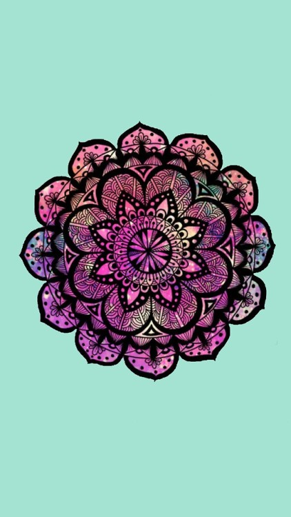 Psychedelic Wallpapers For Iphone 6 Mandalas Wallpapers Tumblr