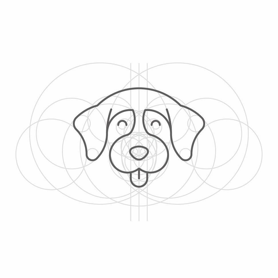 "Logogrids.com — Logogrid by @trinitiff: ""Woof Woof #logo #"