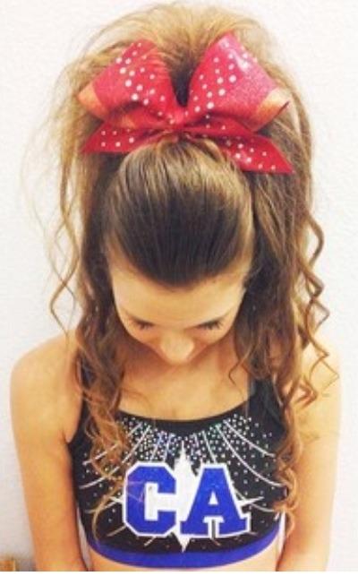 Cheer Hair On Tumblr