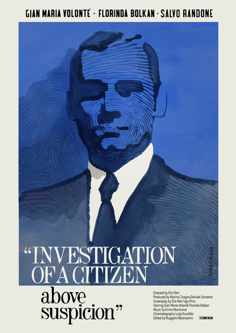 "tumblr_olc6lpgybm1t5e3l3o1_500 antoniostella:Poster for ""Investigation of a Citizen Above... Photography"