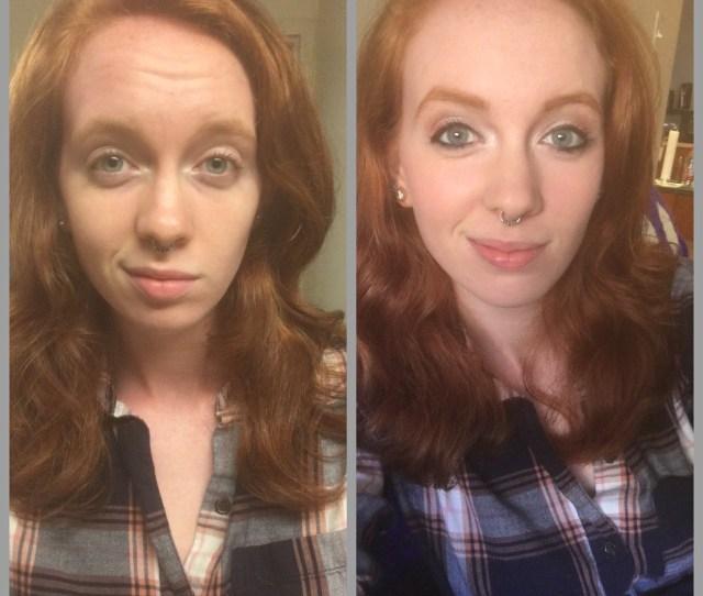 Makeup Makeup Before And After Natural Redhead No Makeup Caitmait Tumblr Com
