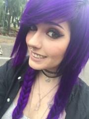 purple plait