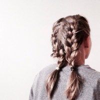 double french braids | Tumblr