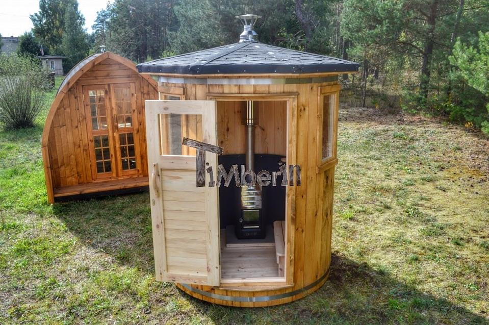 Holzofen Klein Sauna Unter Der Dachschrage Optirelax Blog