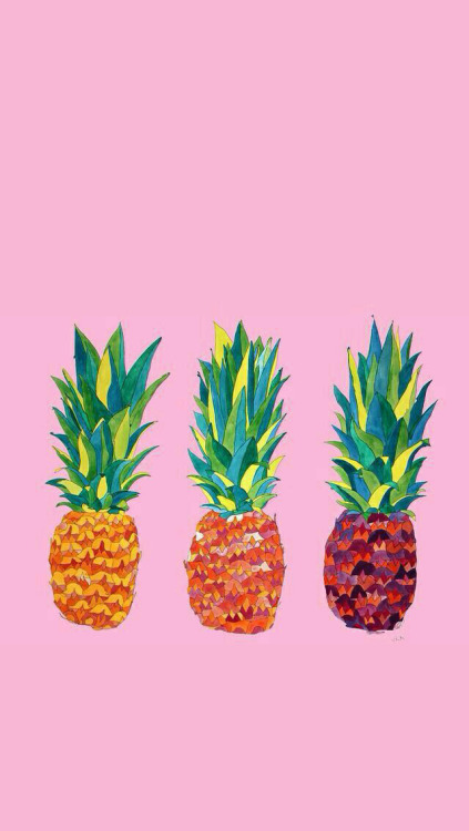 Be A Pineapple Quote Wallpaper Pineapple Patterns Tumblr