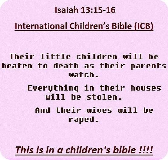 Isaiah 13:16