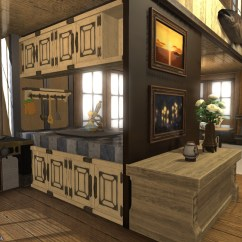 Kitchen Armoire Commercial Pull Down Faucet Alice's House Designs In Final Fantasy Xiv — Part 2:...