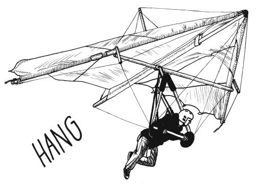 hang glider on Tumblr