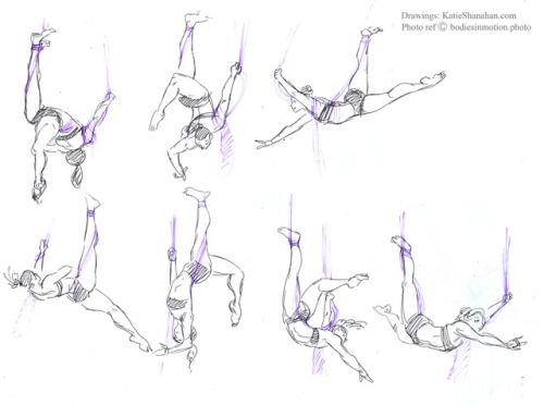 aerial silks on Tumblr