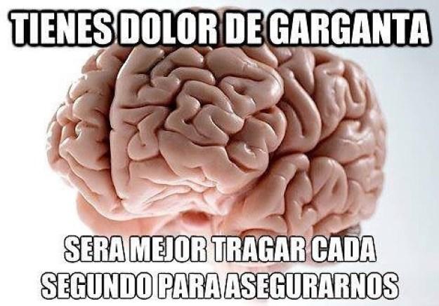 Maldito cerebro