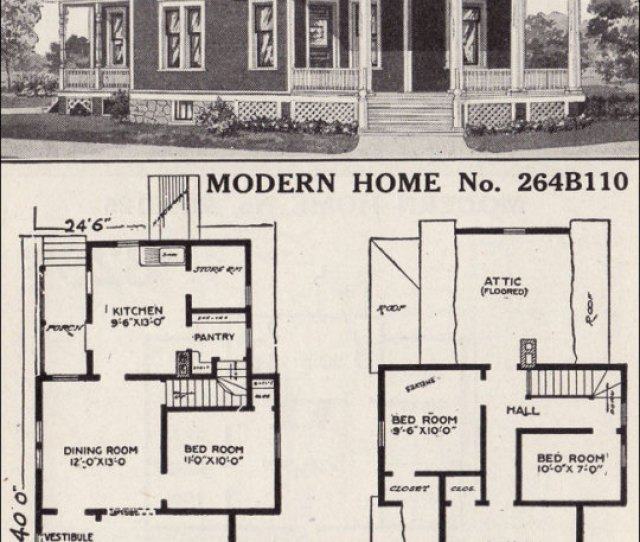 Public Domain Note How The Front Room Living Room Is Byp Ed By The Entry Into The Dining Room Though It Is Common For The Porch To Enter Into Both The