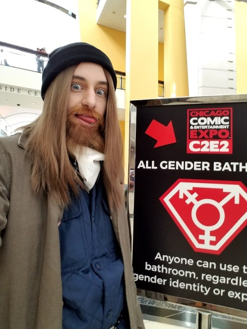 all gender bathroom