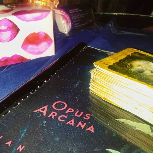 All set up and ready to go at @janebond_005 to give #tarotreadings in honour of the official book launch of Opus Arcana, a debut piano book featuring songs for each of the Major Arcana. A huge congrats to @ian_ring for the completion of this beautiful music! #tarotreadersofinstagram #tarotreading #tarot #majorarcana #music #piano #musiciansofinstagram