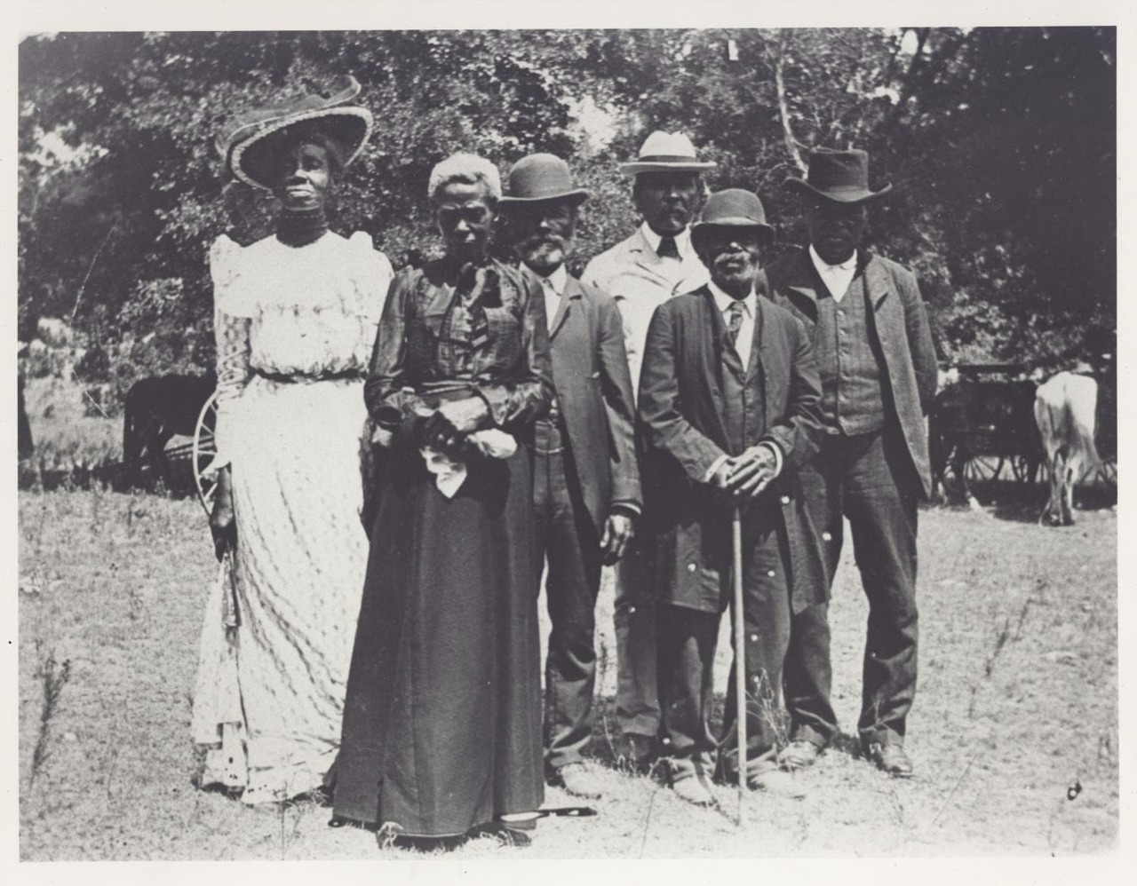 422eef1569f963 A Group Celebrating Juneteenth in Texas, 1900 – History