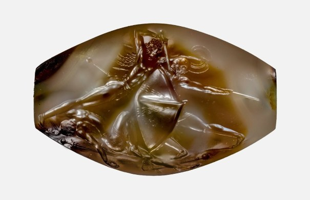 The Pylos Combat Agate carved by ancient Minoa… – History 030eeaed03391