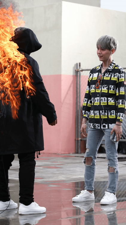 Bts Suga Quotes Wallpaper Bts Fire Wallpaper Tumblr