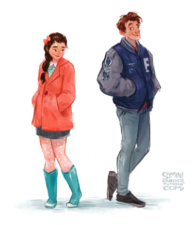 Image result for peter and lara jean fan art