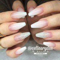 glitter fade nails | Tumblr